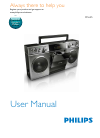 Philips OS685 Digital Camera Manual (14 pages)