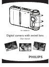 Philips SIC3608S Digital Camera Manual (36 pages)