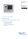Philips SIC3608S Digital Camera Manual (2 pages)