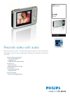 Philips SIC4524 Digital Camera Manual (2 pages)