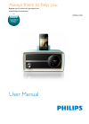Philips ORD2100 Radio Manual (15 pages)