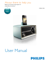 Philips ORD2100 Radio Manual (13 pages)