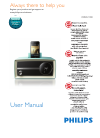 Philips ORD2100C/37 Radio Manual (13 pages)