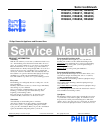 Philips FlexCare HX6910 Electric Toothbrush Manual (4 pages)