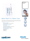 Philips HX5351 Electric Toothbrush Manual (2 pages)