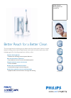 Philips HX5752 Electric Toothbrush Manual (2 pages)