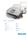 Philips LPF 935 Radio Manual (2 pages)