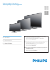Philips 39PFL4408 Digital Camera Manual (56 pages)