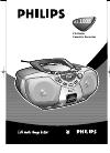 Philips AZ1011/05 Radio Manual (10 pages)