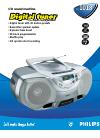 Philips AZ1018 Radio Manual (2 pages)