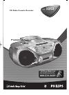 Philips AZ1050 Radio Manual (11 pages)