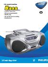 Philips AZ1050 Radio Manual (2 pages)