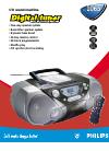 Philips AZ1065 Radio Manual (2 pages)