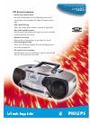 Philips AZ1605/17 Radio Manual (2 pages)
