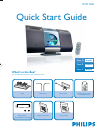 Philips MCM276R MP3 Player Accessories Manual (4 pages)