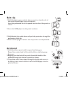 Philips PAC020/93 MP3 Player Accessories Manual (2 pages)
