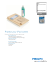 Philips SAC3500W MP3 Player Accessories Manual (2 pages)