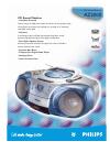 Philips AZ2000 Radio Manual (2 pages)