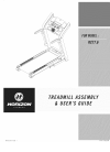 Horizon Fitness RCT7.6 Treadmill Manual (17 pages)