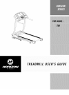 Horizon Fitness T81 Treadmill Manual (35 pages)