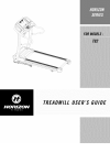 Horizon Fitness T82 Treadmill Manual (35 pages)