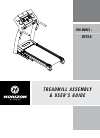 Horizon Fitness RST5.6 Treadmill Manual (32 pages)