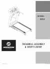 Horizon Fitness RST5.6 Treadmill Manual (17 pages)