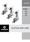 Horizon Fitness 2.3E Treadmill Manual (36 pages)