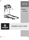 Horizon Fitness GS 1040T Treadmill Manual (19 pages)