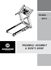 Horizon Fitness RCT7.6 Treadmill Manual (32 pages)