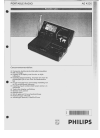 Philips AE4230 Radio Manual (2 pages)
