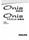 Philips Onis 300 Telephone Manual (11 pages)