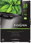 Insignia NS-28E200NA14 LED TV Manual (2 pages)