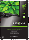 Insignia NS-32D200NA14 LED TV Manual (2 pages)