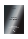 Insignia NS-42D240A13 LED TV Manual (8 pages)