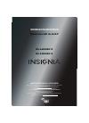 Insignia NS-46E480A13 LED TV Manual (8 pages)