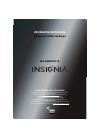 Insignia NS-46E481A13 LED TV Manual (8 pages)