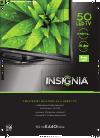 Insignia NS-50E440NA14 LED TV Manual (2 pages)