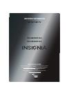 Insignia NS-55E480A13A LED TV Manual (8 pages)
