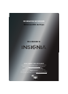 Insignia NS-32E440A13 LED TV Manual (8 pages)