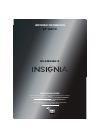 Insignia NS-39E340A13 LED TV Manual (8 pages)