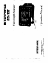 Interphase 20/20 Fish Finder Manual (14 pages)