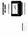 Interphase DC-1000 Fish Finder Manual (22 pages)