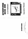 Interphase Echo 200 Fish Finder Manual (15 pages)