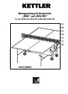 Kettler RIGA 07042-700 Game Manual (17 pages)