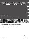 Behringer ULTRAGAIN PRO-8 DIGITAL ADA8000 DJ Equipment Manual (15 pages)
