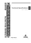 Behringer ULTRAGAIN PRO-8 DIGITAL ADA8000 DJ Equipment Manual (4 pages)