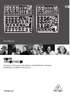 Behringer XENYX 1202FX DJ Equipment Manual (16 pages)