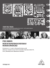 Behringer NOX606 DJ Equipment Manual (22 pages)
