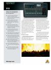 Behringer X32 DIGITAL MIXER DJ Equipment Manual (5 pages)
